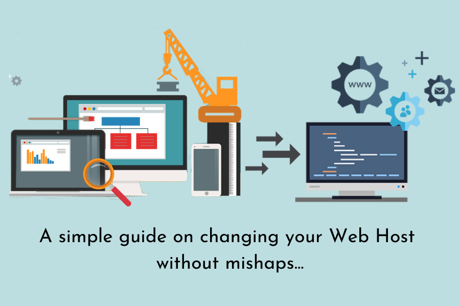 Changing your web host