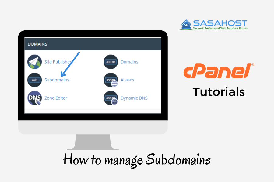 How to manage Subdomains