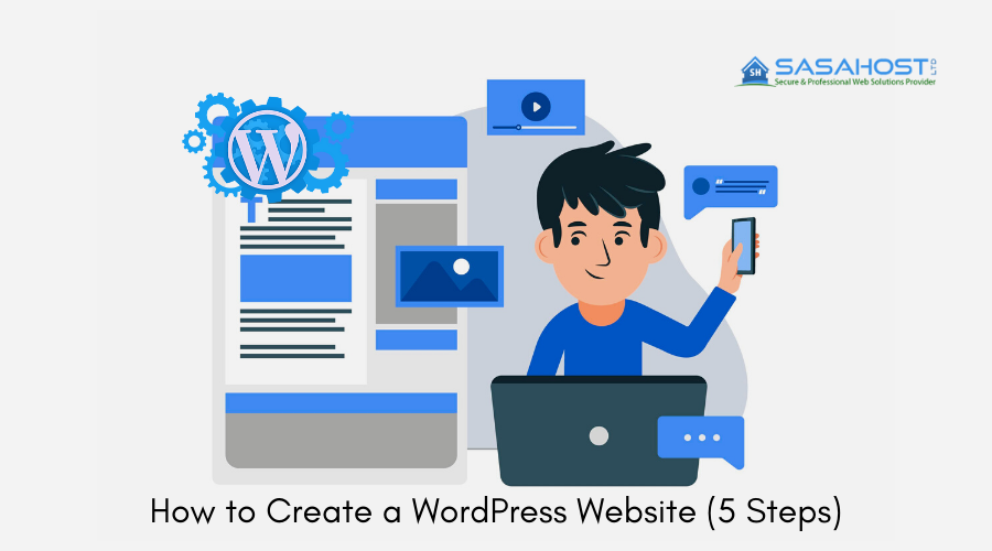 How to create a WordPress Website (5 Steps)